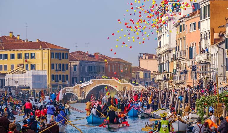 Venice at Mardi Gras