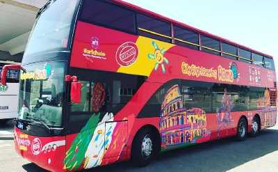 Book Hop on Hop off Bus Rome Tickets & Tours | DoTravel Rome Hop On Off Bus Route Map on
