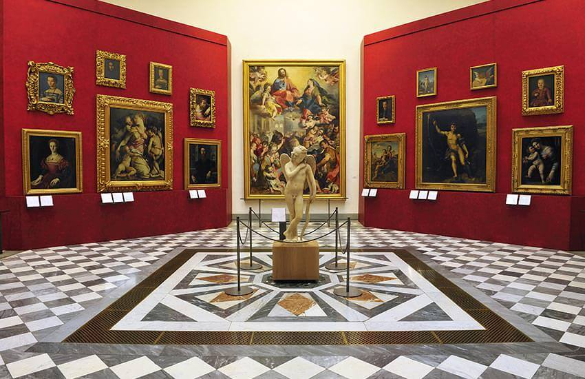 Buy tickets online through our safe and easy system and jump in front of the line! Reservation Service The booking service is available in the reception area of the New Uffizi .