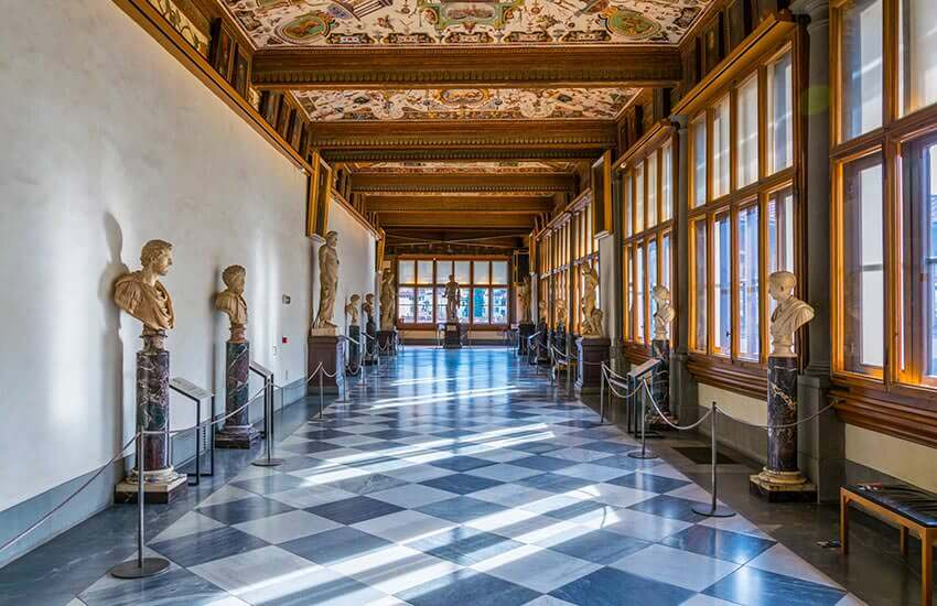 Uffizi Gallery Tickets to see prominent art museum