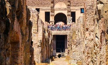 Colosseum Underground Tour Via Sacra of the Roman Forum