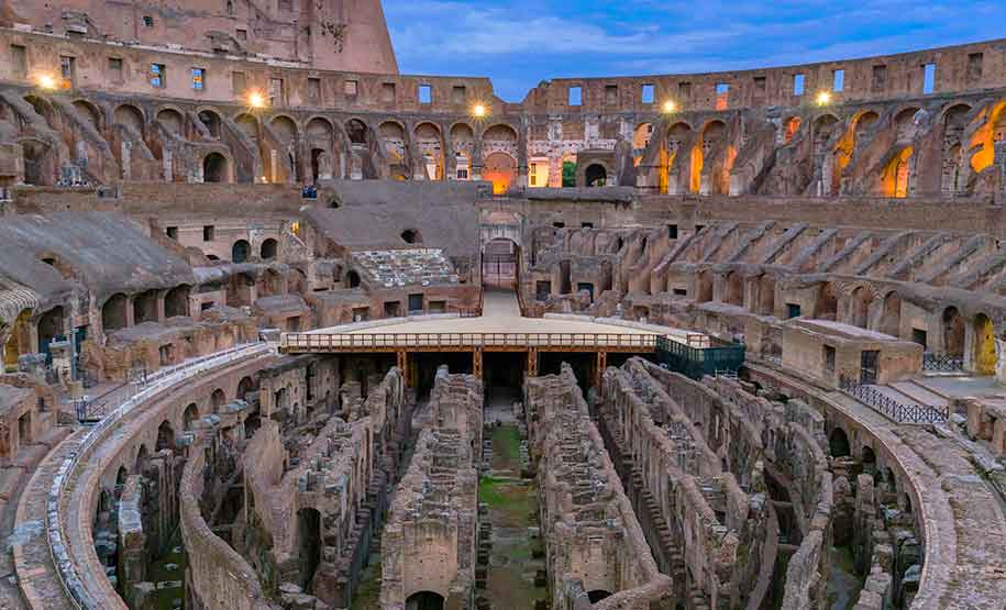 Colosseum Night Tour with Aperitivo is a perfect