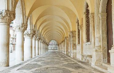 Visit ornamental walls of the palazzo by Doge's Palace Tour