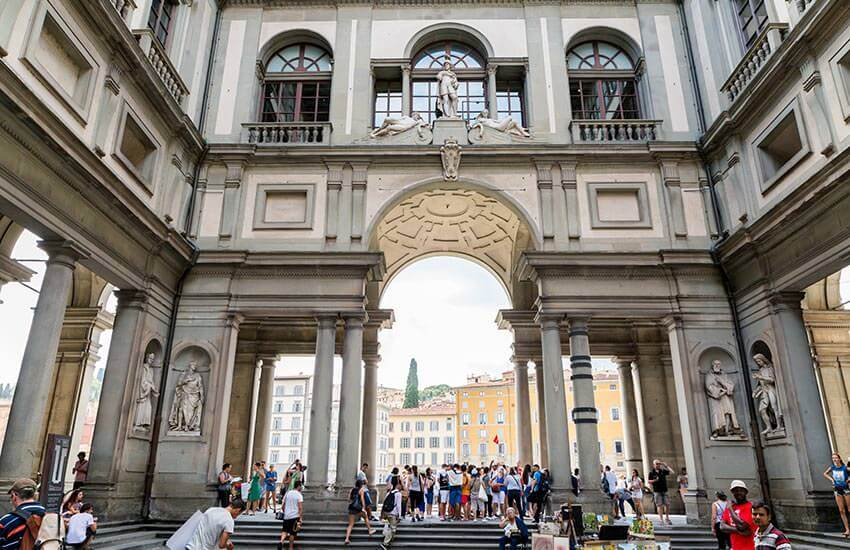 Florence Day Trips include the Uffizi Gallery