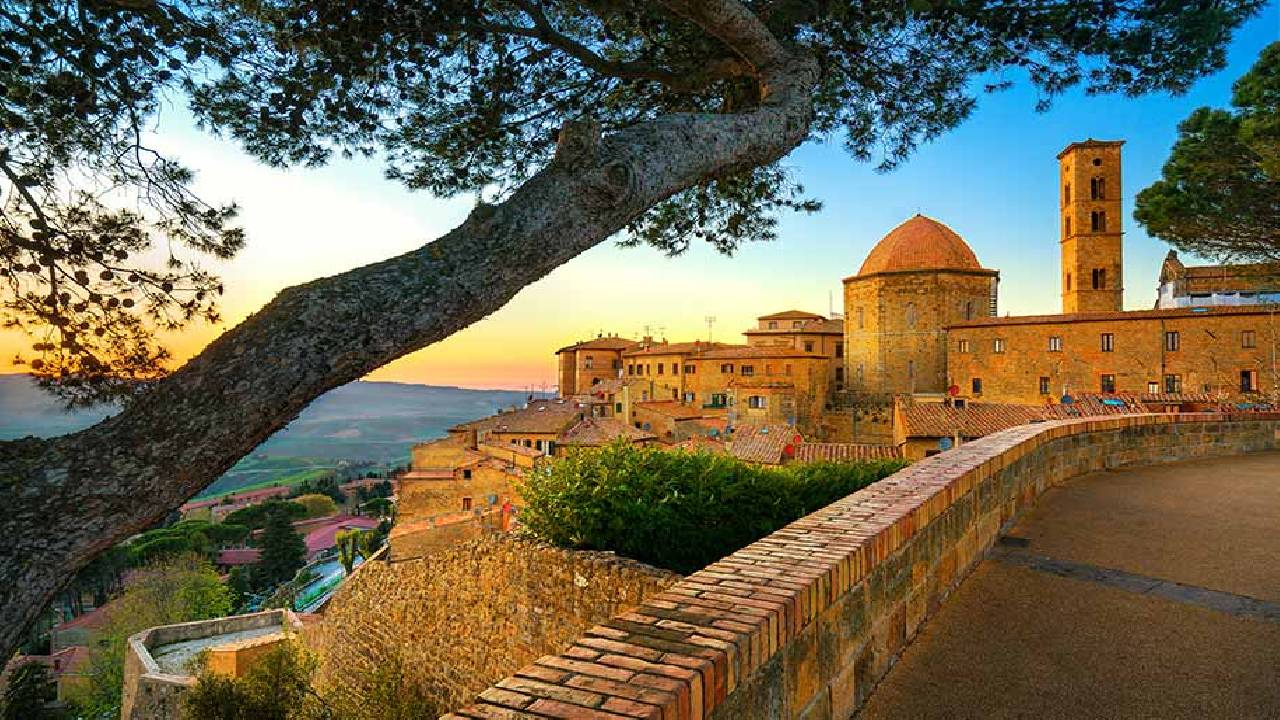 Amazing view by tours of tuscany from florence