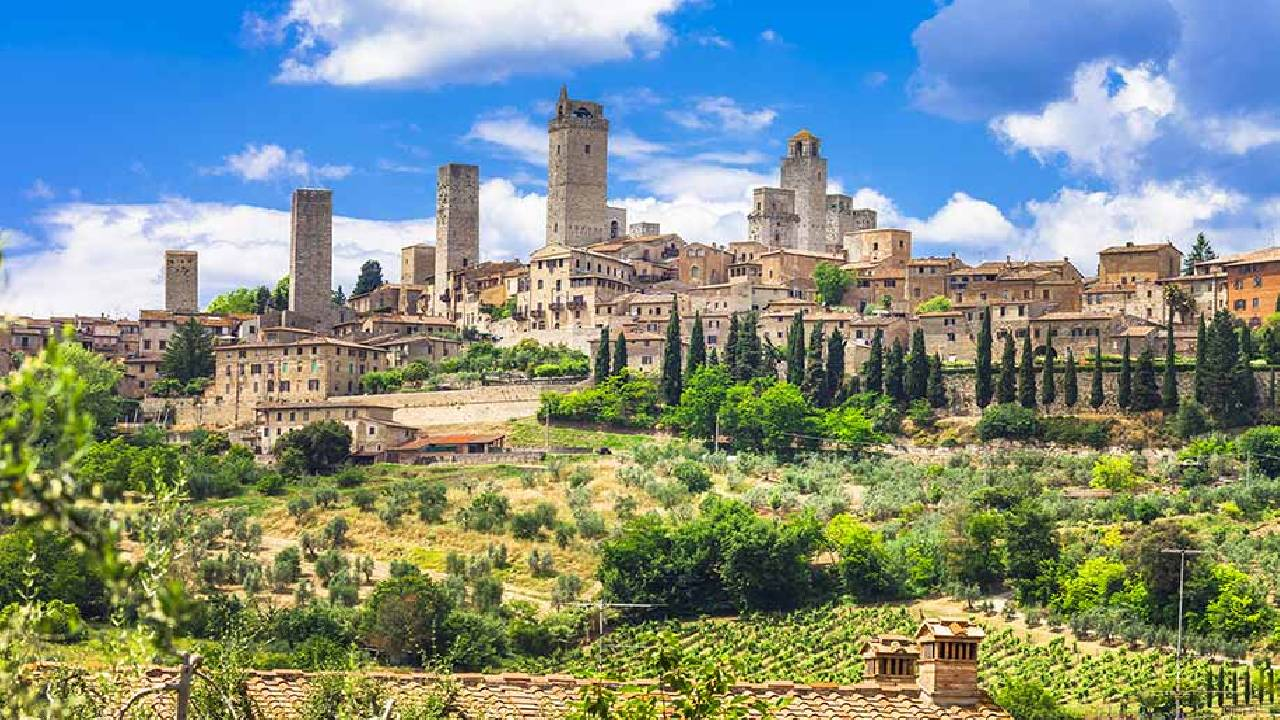 florence to san gimignano tour for sightseens